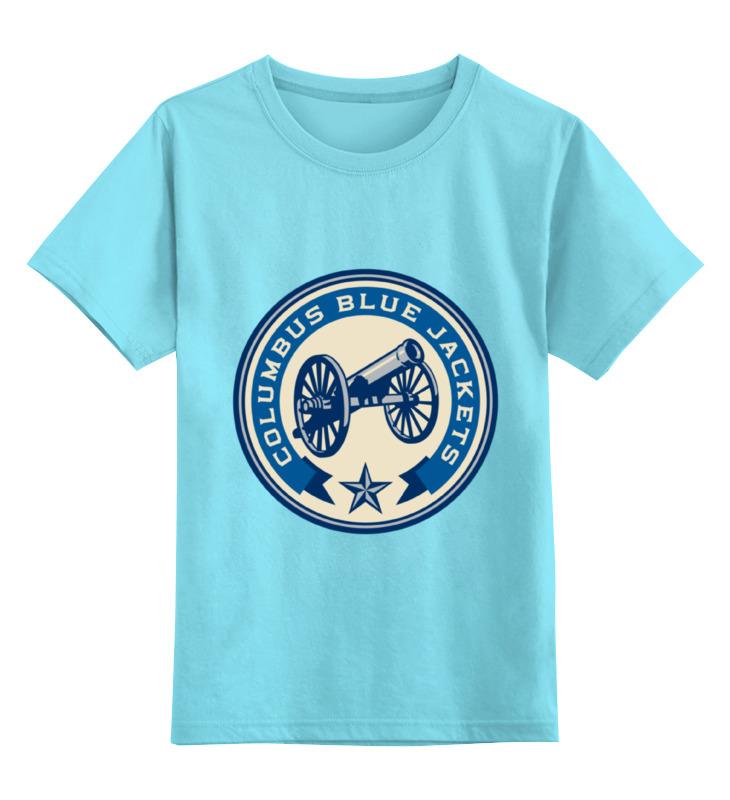 Детская футболка классическая унисекс Printio Columbus blue jackets columbus 20