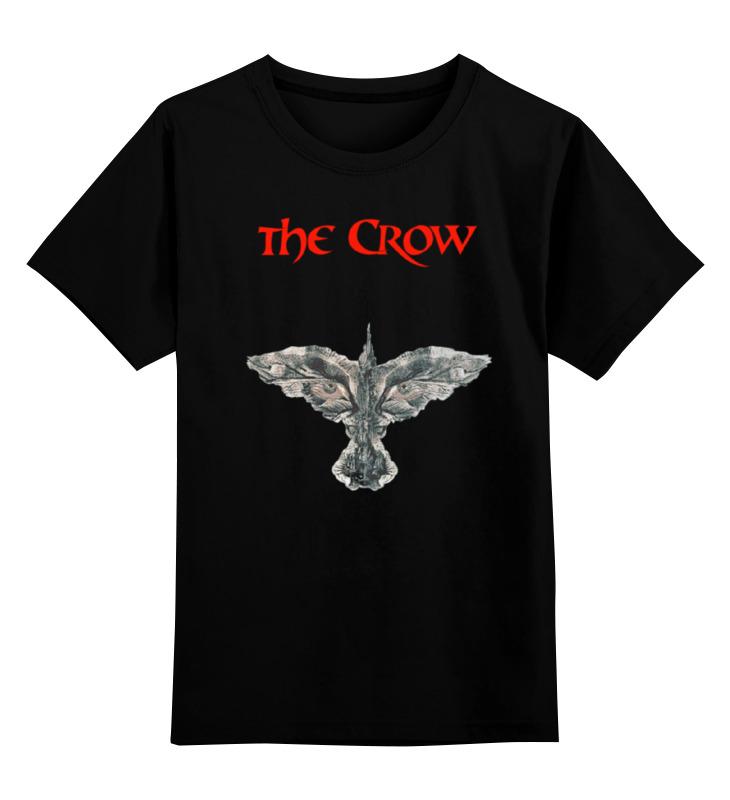 Детская футболка классическая унисекс Printio The crow брэндон т тетка чарлея