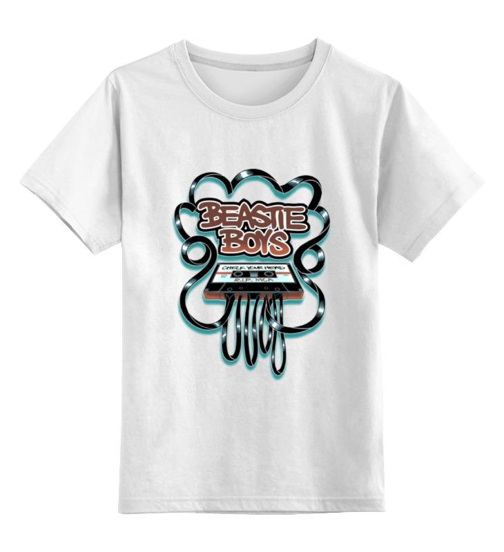 Детская футболка классическая унисекс Printio Beastie boys игровая форма nike футболка детская nike ss precision iii jsy boys 645918 410