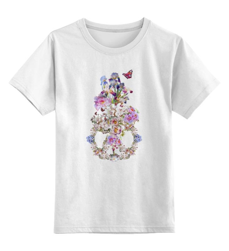Детская футболка классическая унисекс Printio Цветочная фантазия. майка классическая printio цветочная фантазия