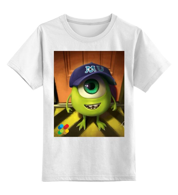 Детская футболка классическая унисекс Printio Университет монстров! футболка print bar университет монстров