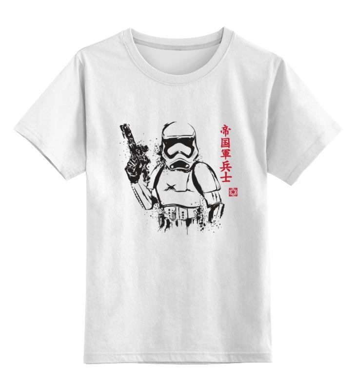 Детская футболка классическая унисекс Printio Trooper детская футболка классическая унисекс printio skull trooper
