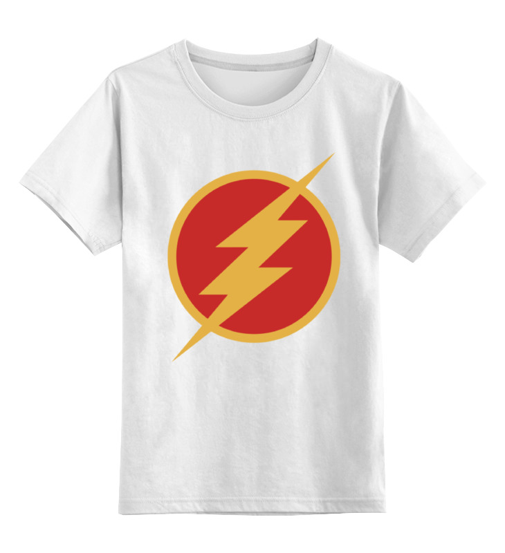 Детская футболка классическая унисекс Printio Flash детская футболка классическая унисекс printio flash