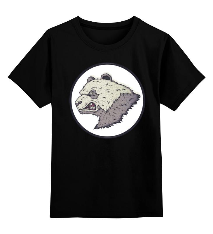 купить Детская футболка классическая унисекс Printio Angry panda / злая панда по цене 867 рублей