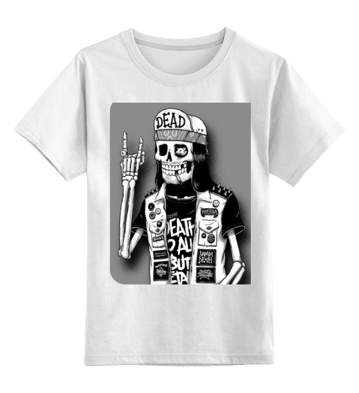 Детская футболка классическая унисекс Printio Смертельный рок детская футболка классическая унисекс printio мотобайк