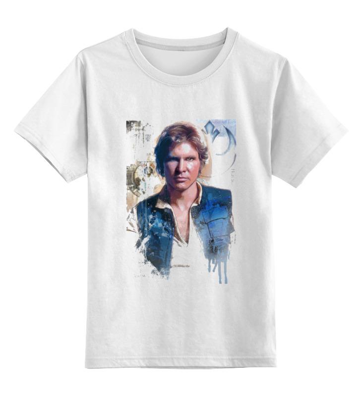 Детская футболка классическая унисекс Printio Звёздные войны. хан соло надстройка васко соло 013 1101 к столу соло 021