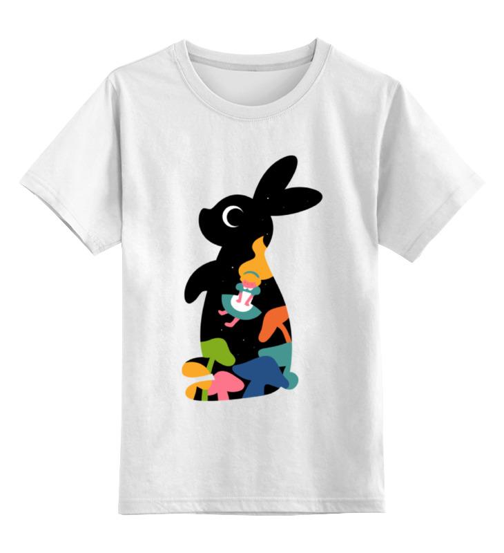 Детская футболка классическая унисекс Printio Зайчик (алиса в стране чудес) детская футболка классическая унисекс printio алиса