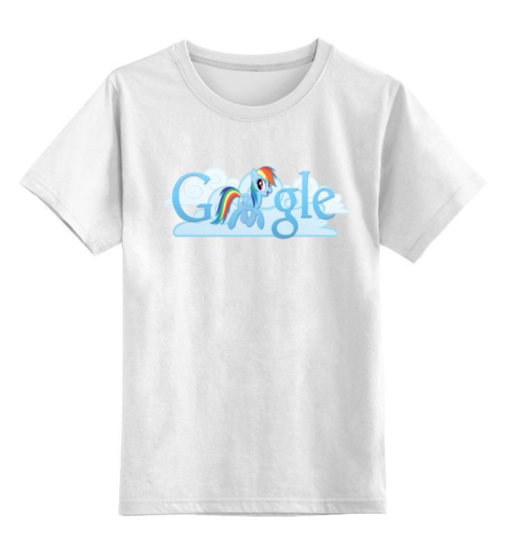 Детская футболка классическая унисекс Printio Rainbow dash mlp цена