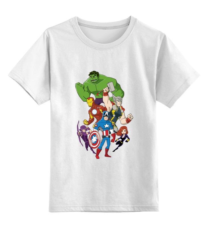 Детская футболка классическая унисекс Printio Мстители (the avengers) детская футболка классическая унисекс printio the undertaker