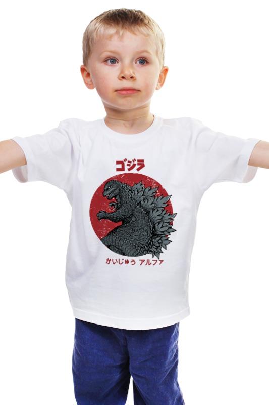 Детская футболка классическая унисекс Printio Годзилла детская футболка классическая унисекс printio комиксы