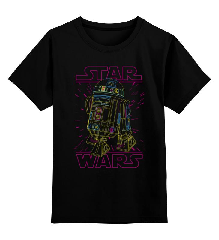 Детская футболка классическая унисекс Printio Дроид r2-d2 футболка классическая printio r2 d2 star wars
