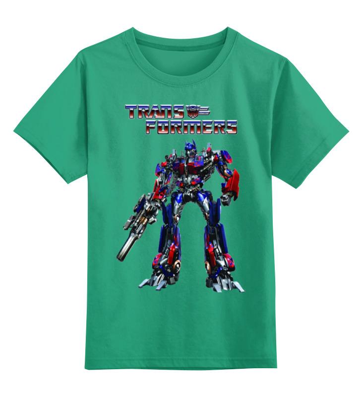 Детская футболка классическая унисекс Printio Трансформеры