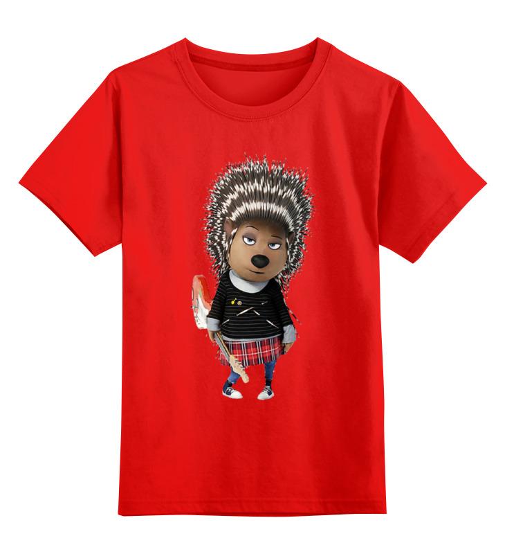 Детская футболка классическая унисекс Printio Зверопой smoby детская горка king size цвет красный