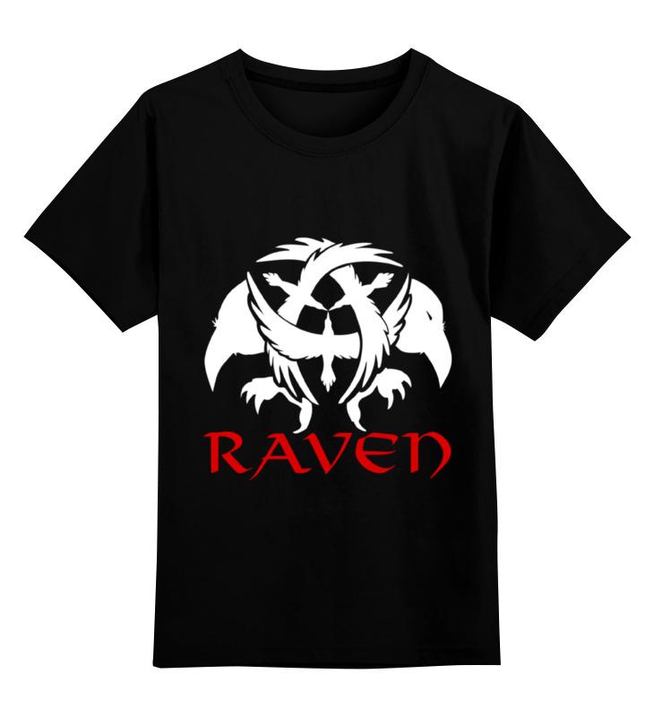Детская футболка классическая унисекс Printio Raven brand raven raven extermination 2 lp