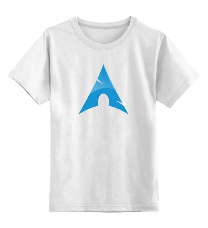 Детская футболка классическая унисекс Printio Фанат arch linux vitesse arch