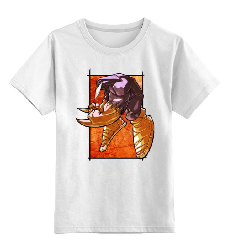 Детская футболка классическая унисекс Printio Крутой боец майка классическая printio крутой боец page 5