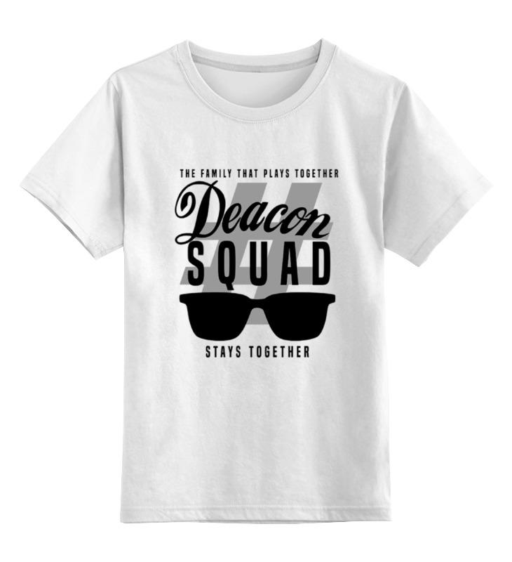 Детская футболка классическая унисекс Printio Deacon squad deacon blue belfast