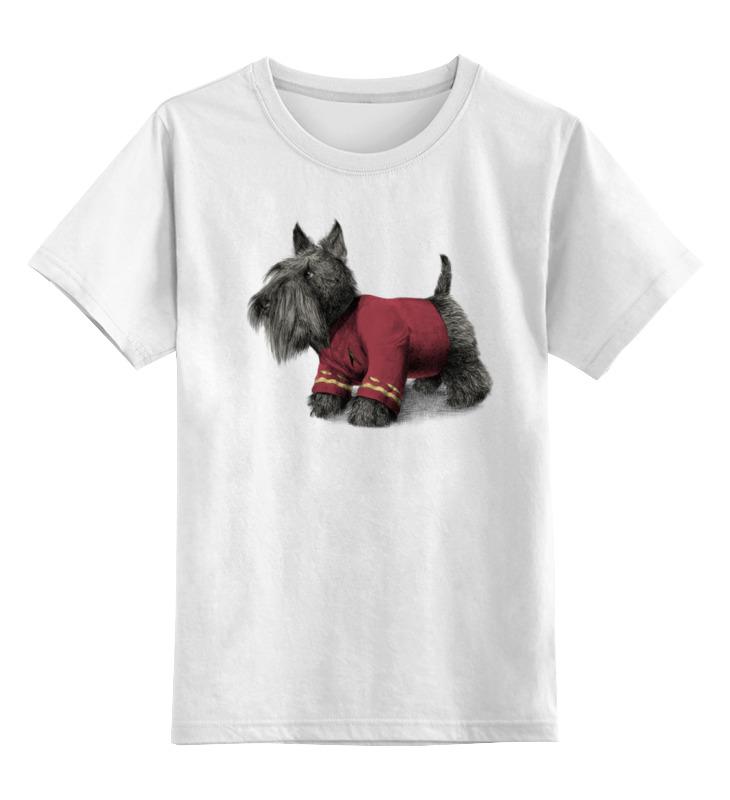 Детская футболка классическая унисекс Printio Шотландский терьер детская футболка классическая унисекс printio йоркширский терьер