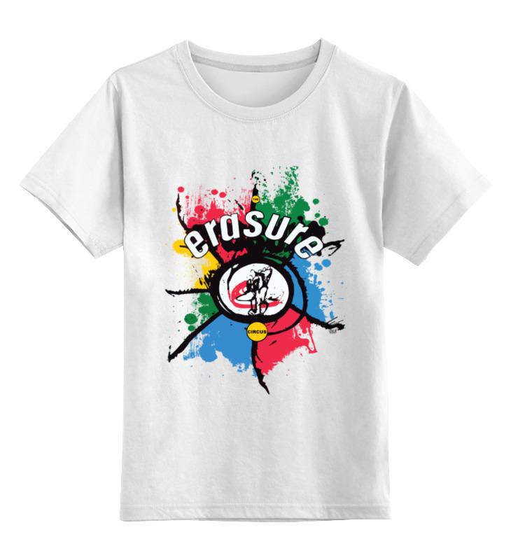 Детская футболка классическая унисекс Printio Erasure / the circus erasure vancouver