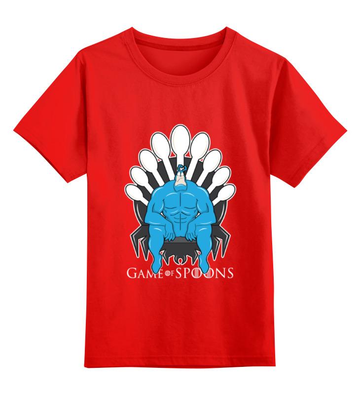 Детская футболка классическая унисекс Printio Game of spoons