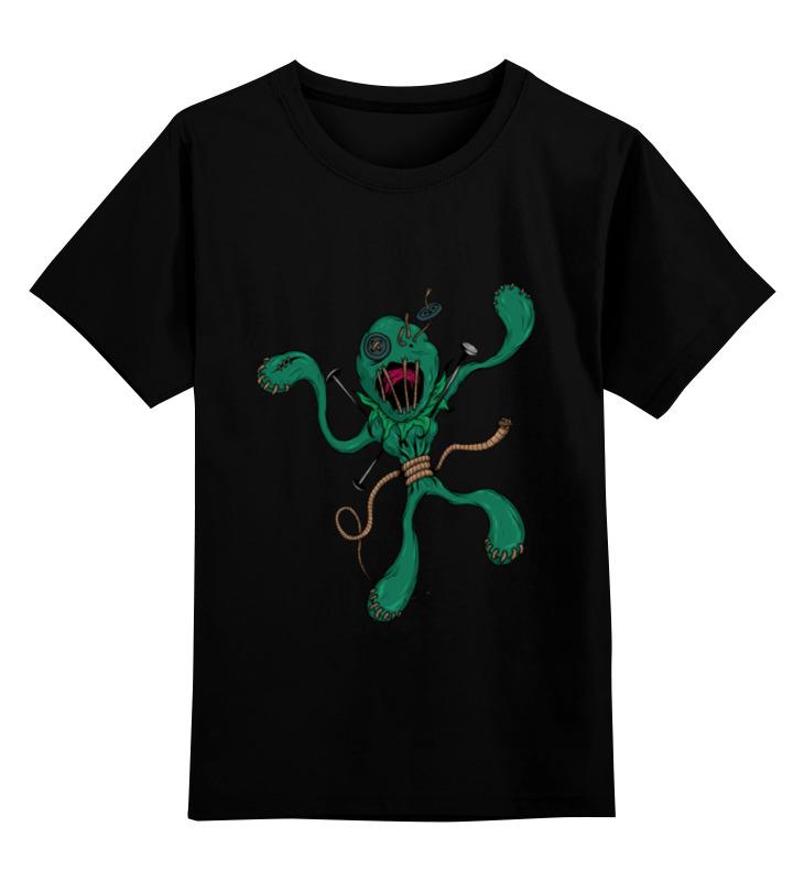 Детская футболка классическая унисекс Printio Кукла вуду кукла yako m6579 6