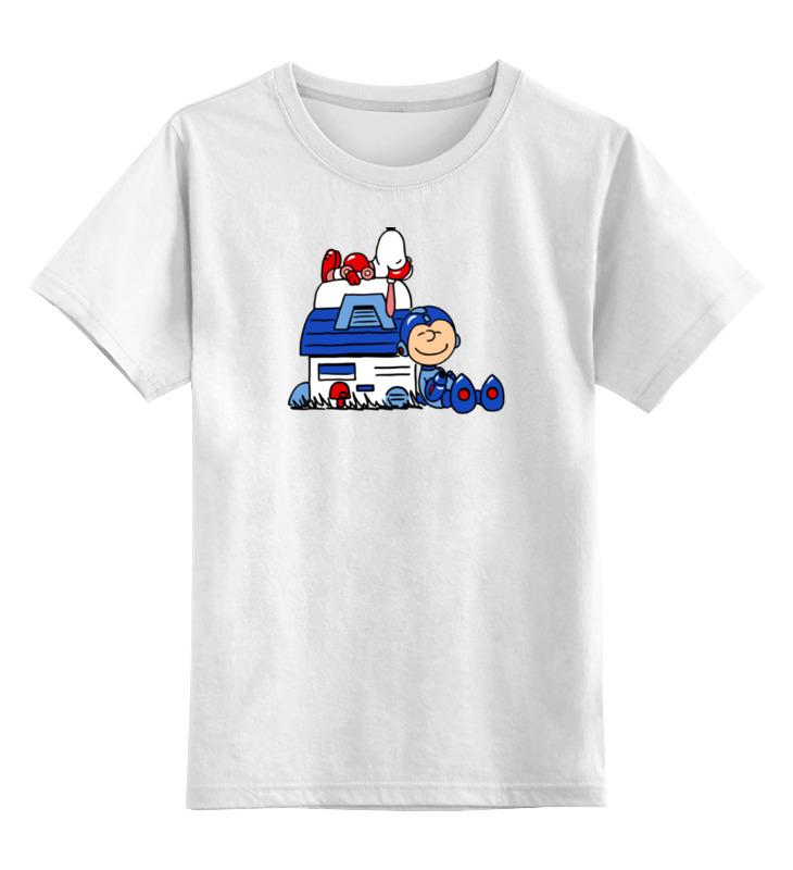 Фото - Детская футболка классическая унисекс Printio Снупи мегамен майка классическая printio снупи мегамен