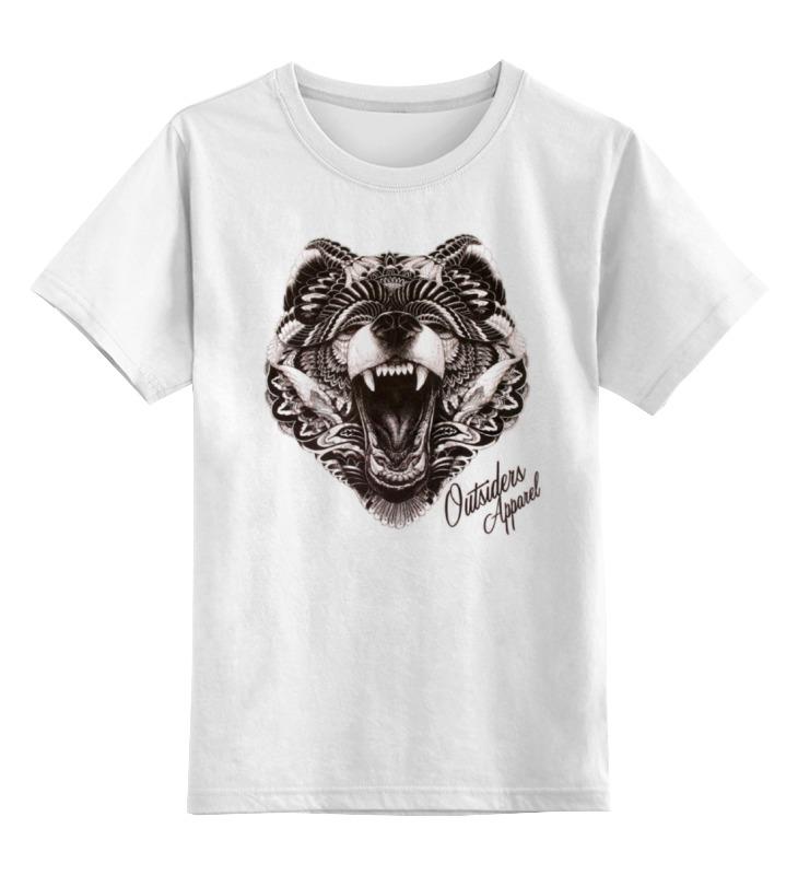 Детская футболка классическая унисекс Printio Animal art animal футболка animal outdoors f94 s