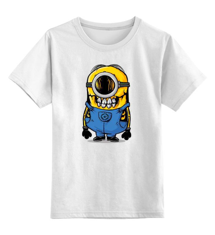 Детская футболка классическая унисекс Printio Skull minion детская футболка классическая унисекс printio laughing skull