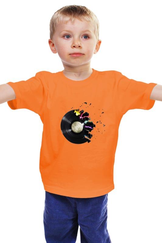 Детская футболка классическая унисекс Printio Музыка детская футболка классическая унисекс printio мачете