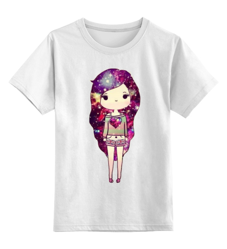 Printio Девушка космос детская футболка классическая унисекс printio девушка с камерой