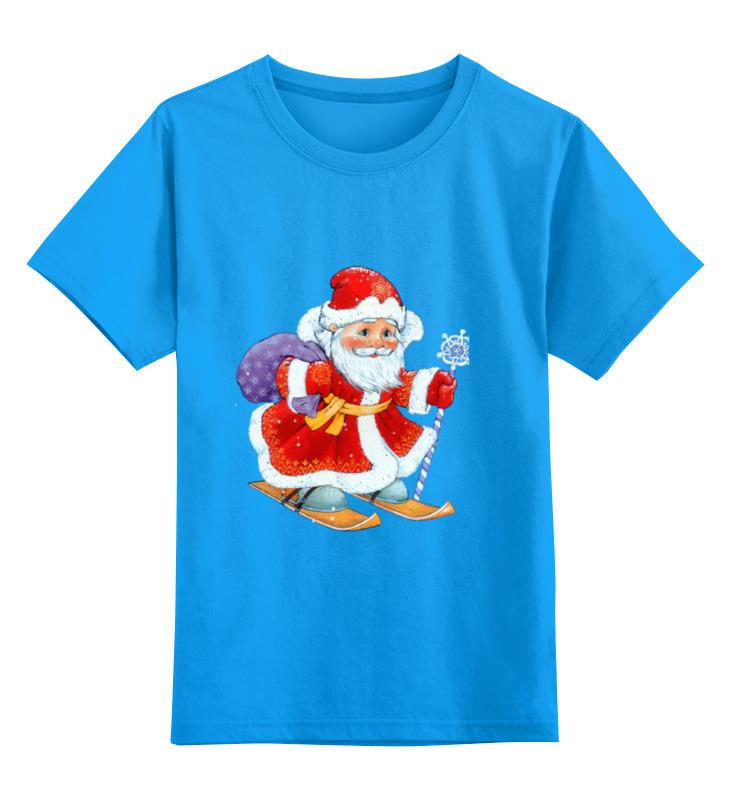 Детская футболка классическая унисекс Printio Дед мороз упаковка подарочная страна карнавалия конфетница дедушка мороз цвет красный белый