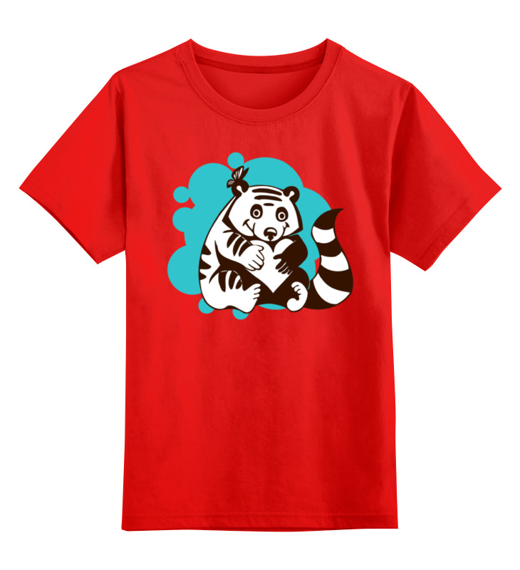 Детская футболка классическая унисекс Printio Енотик gulliver енотик 14 68620