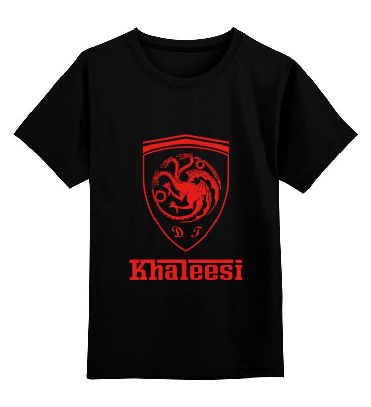где купить Детская футболка классическая унисекс Printio Khaleesi ferrari по лучшей цене