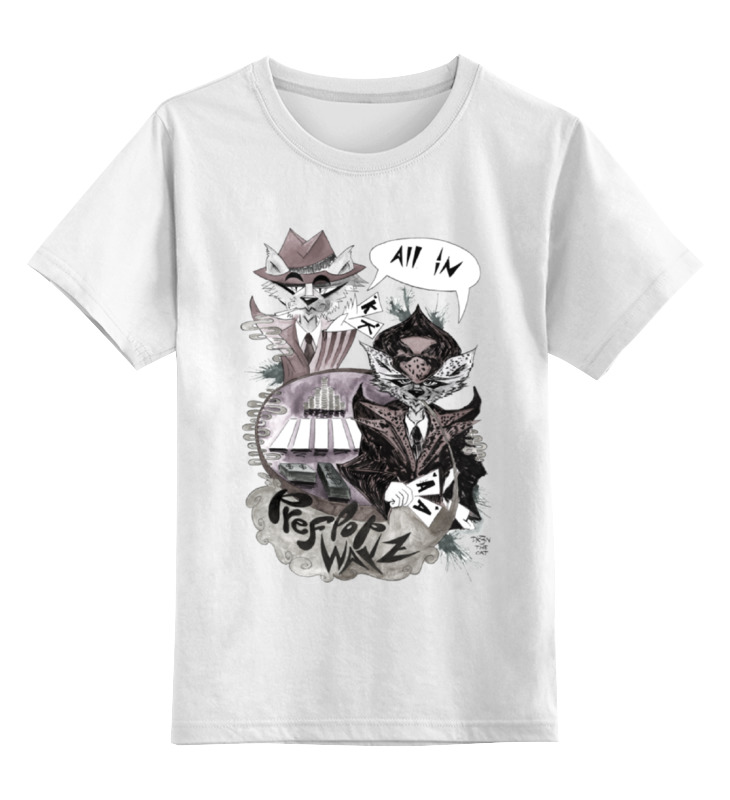 Детская футболка классическая унисекс Printio Префлоп войны детская футболка классическая унисекс printio покер poker