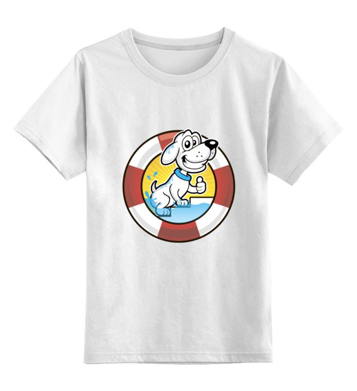 Детская футболка классическая унисекс Printio Пёс-спасатель детская футболка классическая унисекс printio умный пёс