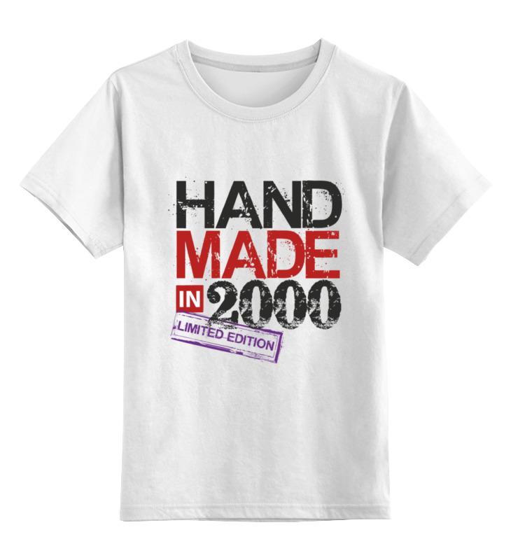 Детская футболка классическая унисекс Printio 2000 год рождения. футболка классическая printio 94m$n17 поколение 2000 1