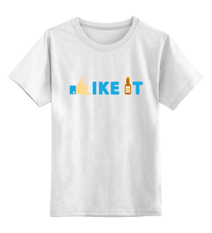 Детская футболка классическая унисекс Printio Мне нравиться. подарите мне щеночка
