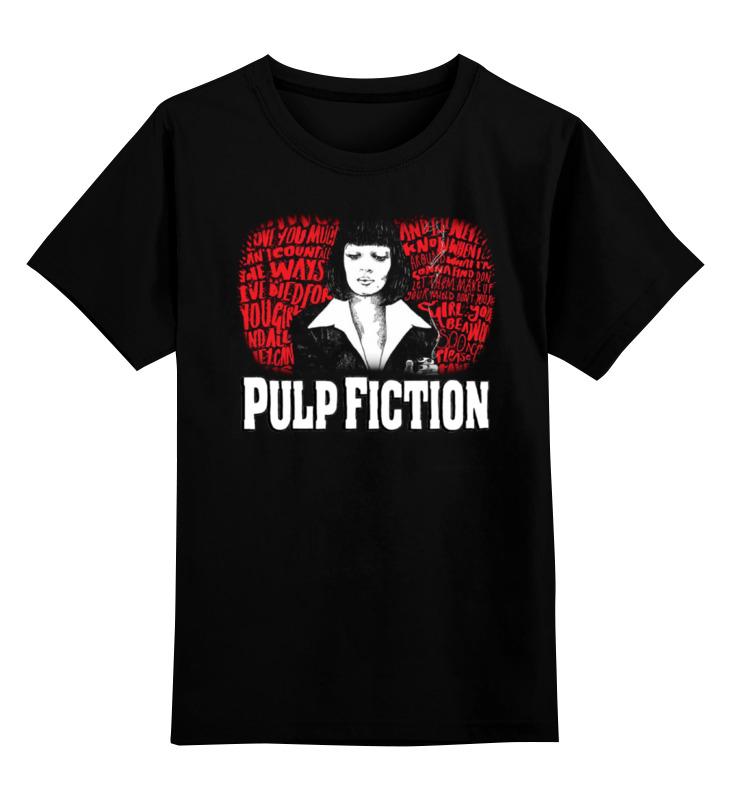 Детская футболка классическая унисекс Printio Pulp fiction цена и фото