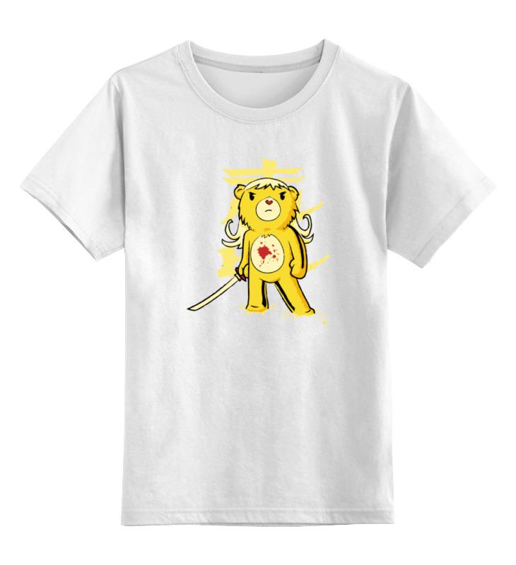Детская футболка классическая унисекс Printio Медведь (убить билла) футболка для беременных printio убить билла