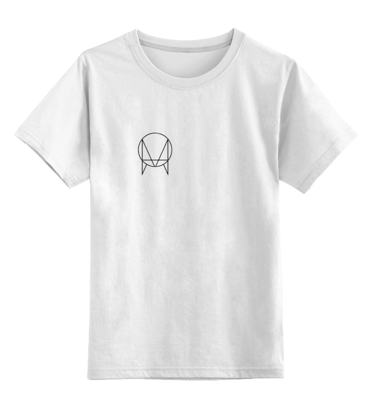 Детская футболка классическая унисекс Printio Owsla t-shirt jadefuture white grizzly territory t shirt [large] white