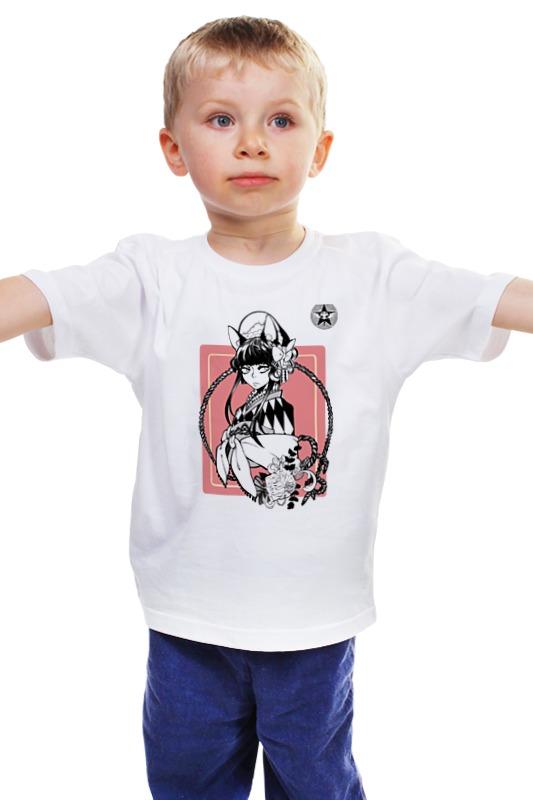 Детская футболка классическая унисекс Printio Волчица детская футболка классическая унисекс printio мачете