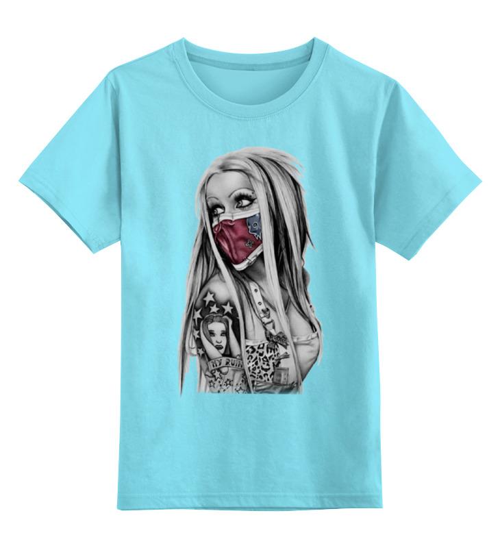 Детская футболка классическая унисекс Printio Girl детская футболка классическая унисекс printio spitfire