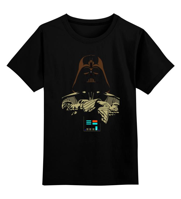 Детская футболка классическая унисекс Printio Darth vader (star wars) футболка рингер printio darth vader star wars