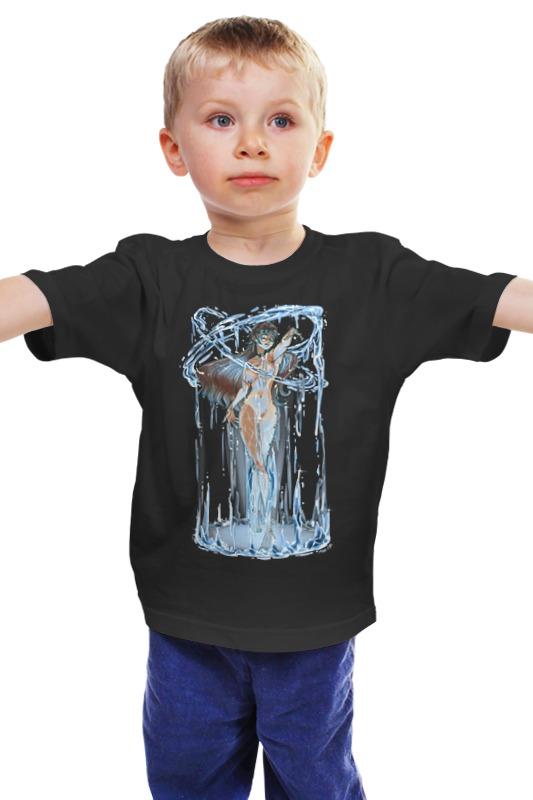 Детская футболка классическая унисекс Printio Мать моря мария барская женщина фейерверк