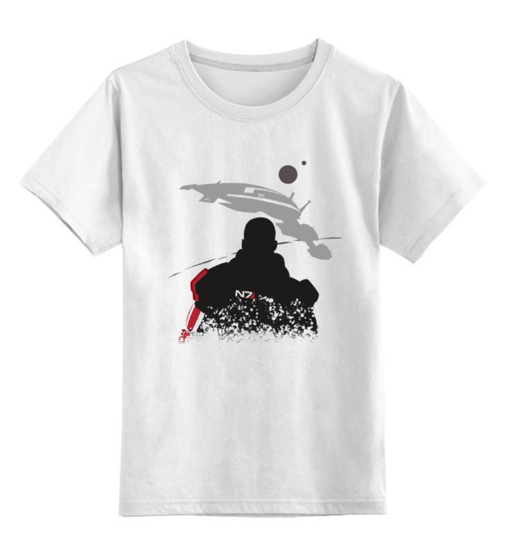 купить Детская футболка классическая унисекс Printio Масс эффект (mass effect)
