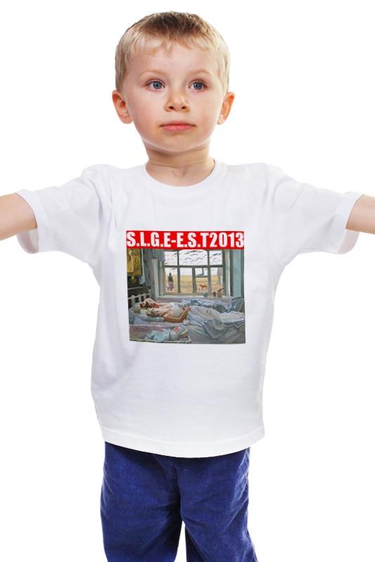 Детская футболка классическая унисекс Printio Война майка классическая printio война никогда не меняется