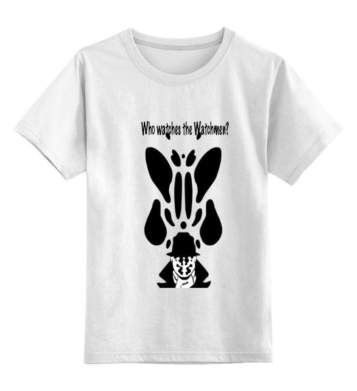 Детская футболка классическая унисекс Printio Watchmen - rorschach before watchmen comedian rorschach