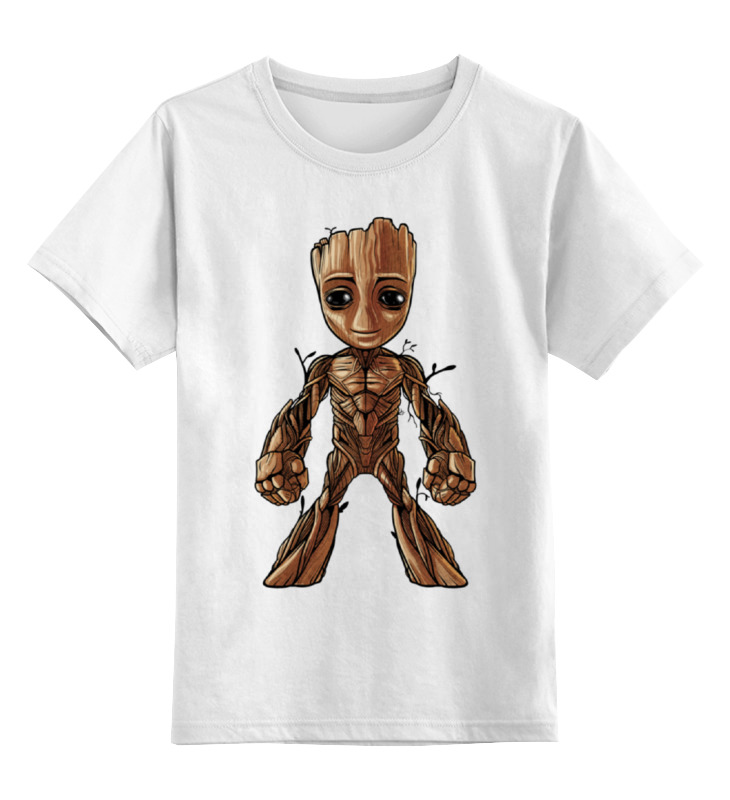 Детская футболка классическая унисекс Printio I am groot (guardians of the galaxy) брелок funko pop marvel guardians of the galaxy – baby groot