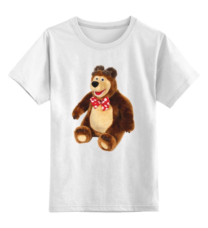 Детская футболка классическая унисекс Printio Медведь.мягкая игрушка. любимый мульт. нтм игрушка пластм набор погремушек 4602010375831 мульт