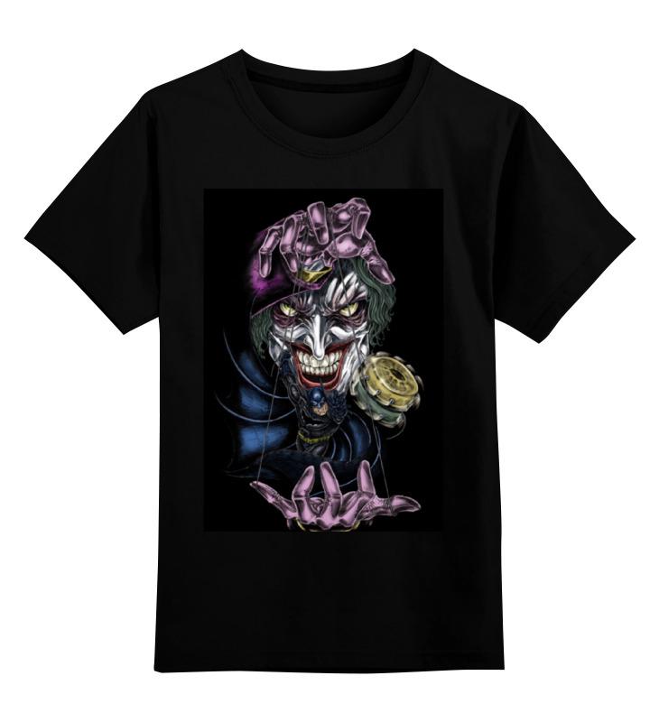 Детская футболка классическая унисекс Printio Joker & batman лонгслив printio batman x joker